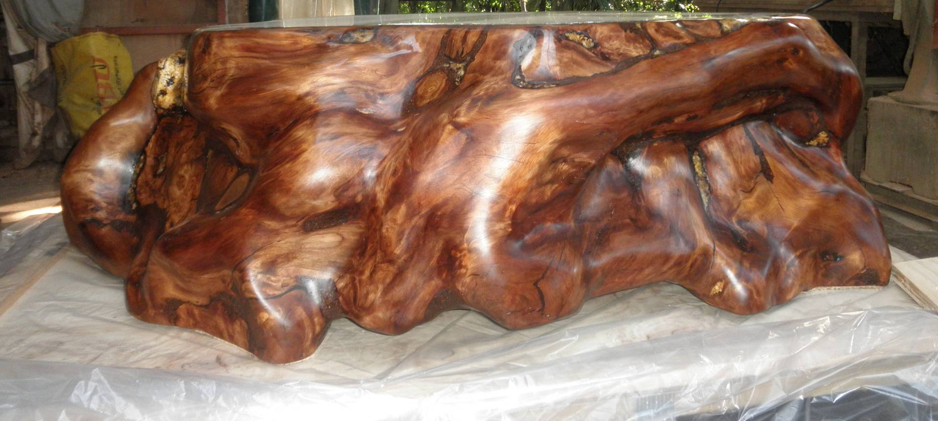 A coffee table from Kauri Craft and Furniture
